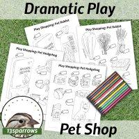 pet shop shopping