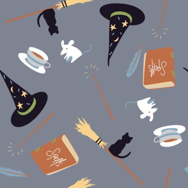 witch school charms pattern