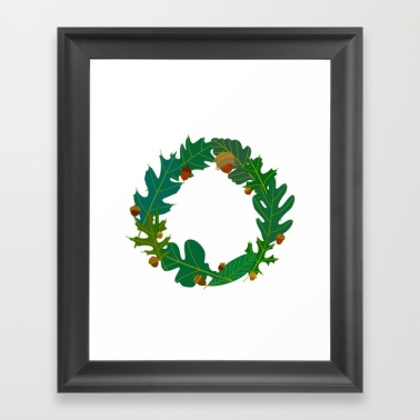 green-oaks-framed-prints