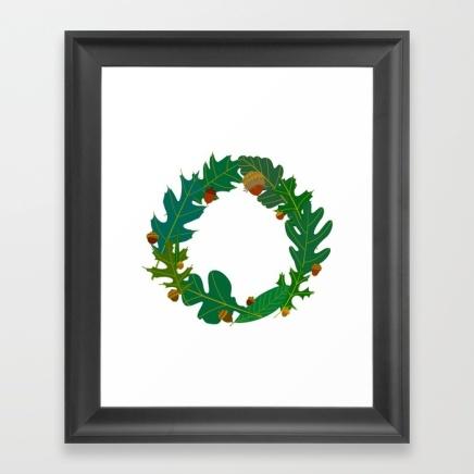 green-oaks-framed-prints