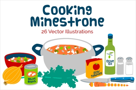 cooking with kids, minestrone