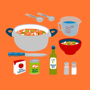 minestrone soup hero