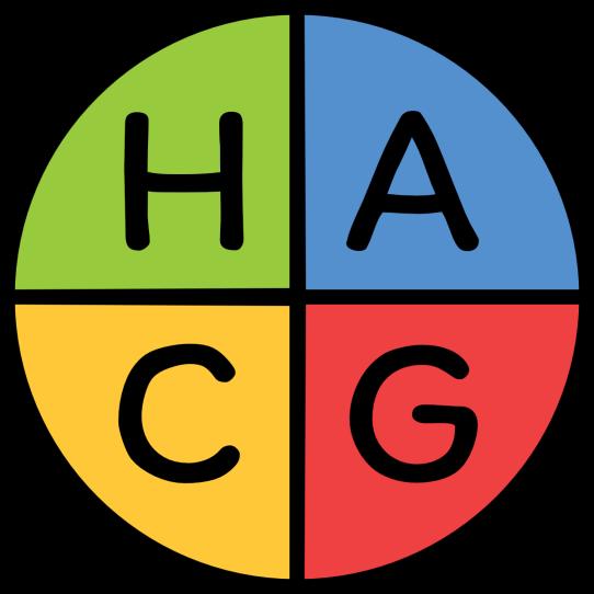 HACG letter logo