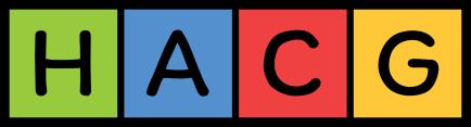 HACG square letters logo