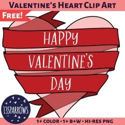 Valentine's Heart Clip Art
