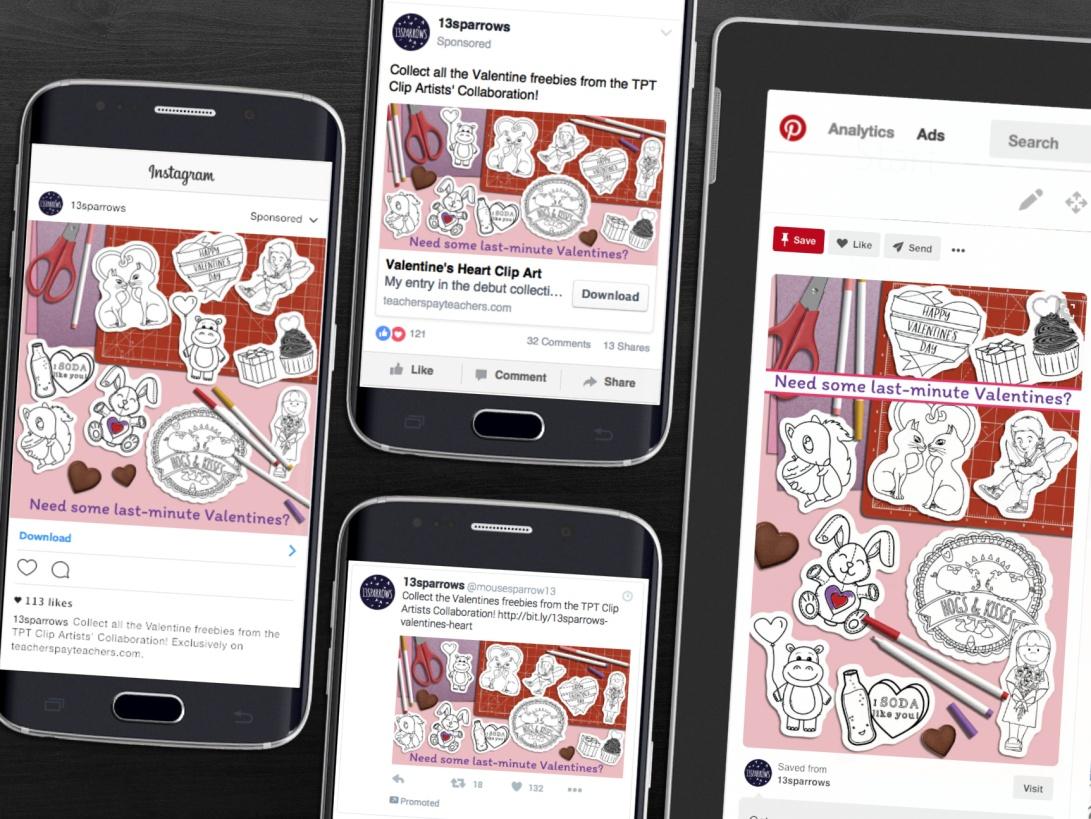 social media variations