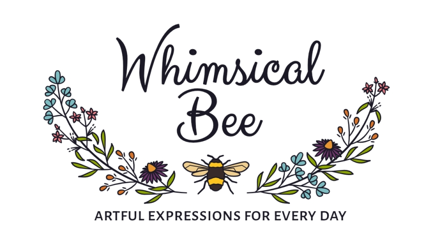 Whimsical Bee logo